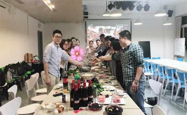 2018年市场营销部/项目管理部/产品支持部聚餐活动